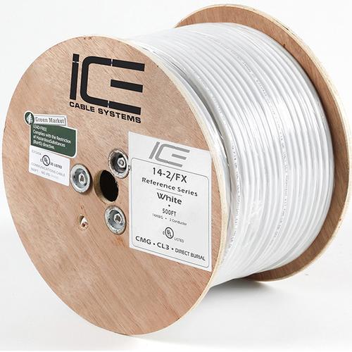 Акустический кабель ICE Cable 14-2FX White 2x2.08 mm2 м/кат (катушка 152м)