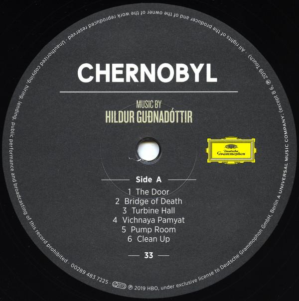 Виниловая пластинка Hildur Gudnadottir, Chernobyl (Music from the Original TV Series)
