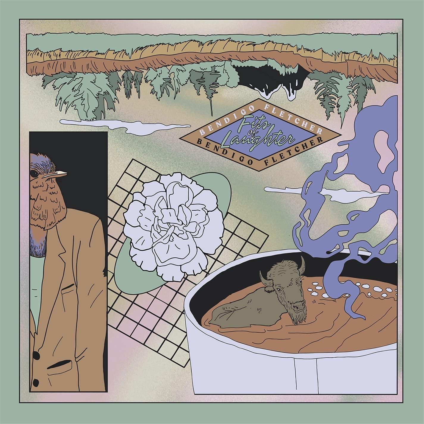 Виниловая пластинка Bendigo Fletcher - Fits Of Laughter (Black Vinyl/Poster)