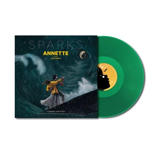 Виниловая пластинка Sparks - Annette (Original Motion Picture Sountrack) (Limited 180 Gram Transparent Green Vinyl/Gatefold/Booklet)