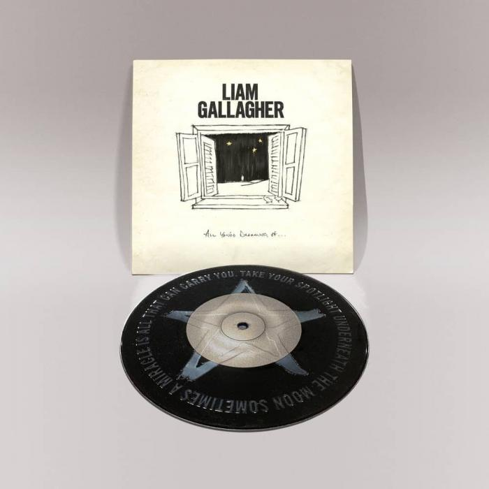 Виниловая пластинка Liam Gallagher - All You're Dreaming Of… (Limited Black Vinyl/1 Track)