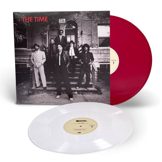 Виниловая пластинка The Time - The Time (Limited Red & White Vinyl)