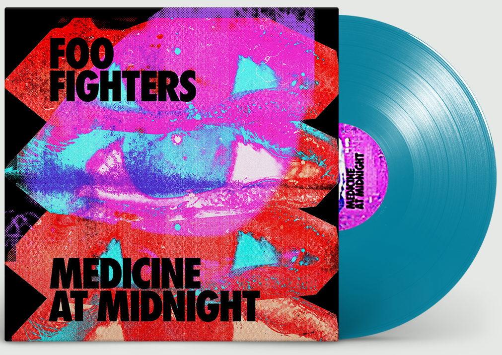 Виниловая пластинка Foo Fighters - Medicine At Midnight (Limited Blue Vinyl)