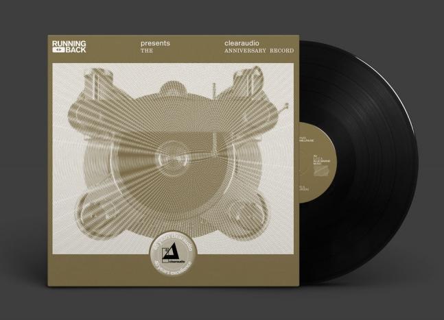 Виниловая пластинка Clearaudio Running Back - 40 Years Clearaudio Excellence