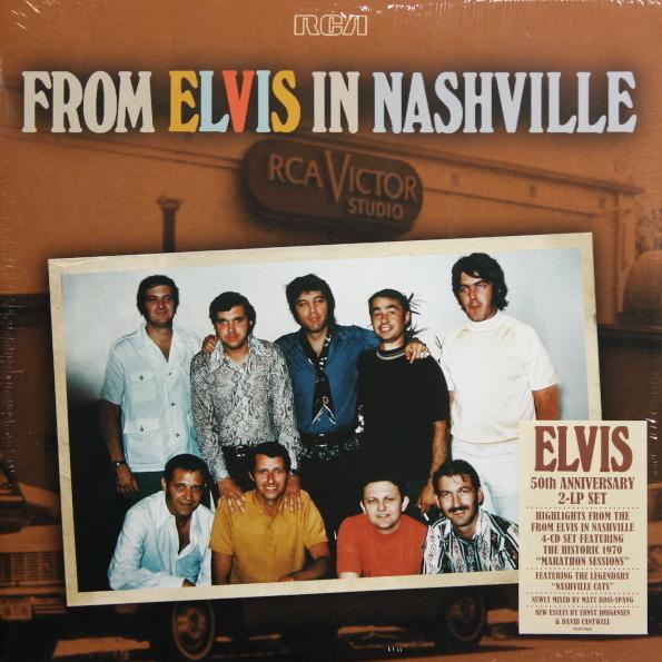 Виниловая пластинка Elvis Presley – From Elvis In Nashville( Black Vinyl/Gatefold)