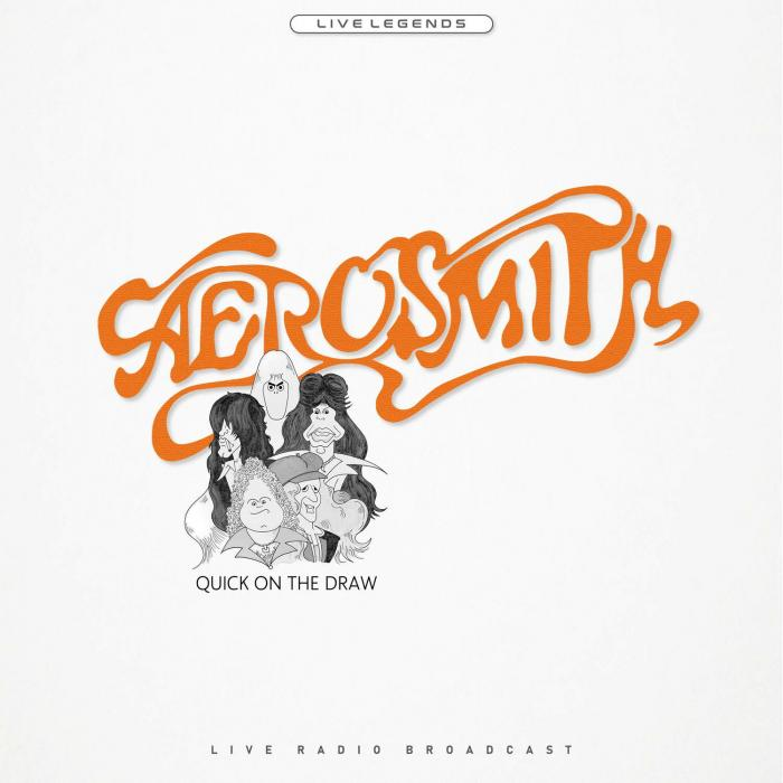Виниловая пластинка Aerosmith - Quick on the Draw (Transparent Orange Vinyl)