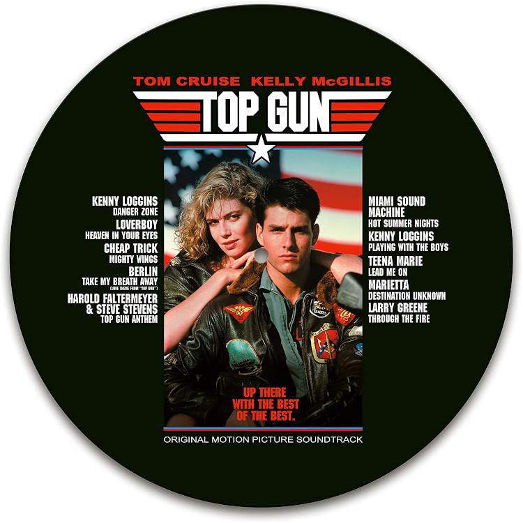 Виниловая пластинка Top Gun - Original Motion Picture Soundtrack (National Album Day 2020 / Limited Picture Vinyl)