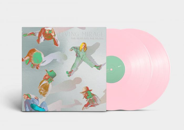 Виниловая пластинка The Head and the Heart - Living Mirage: The Complete Recordings (Limited Baby Pink Vinyl)