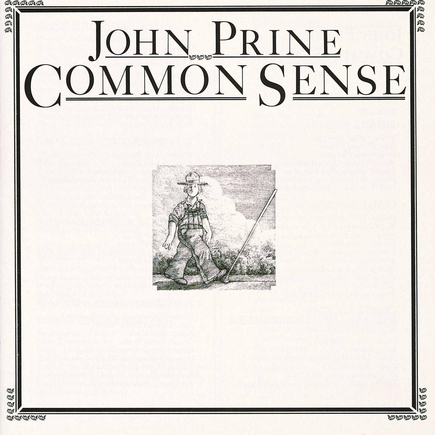 Виниловая пластинка John Prine - Common Sense (180 Gram/Black Vinyl)