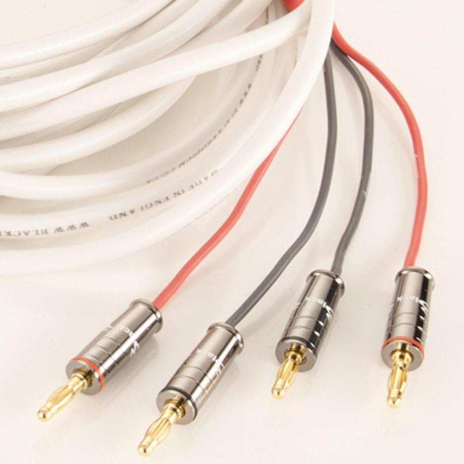 Акустический кабель Black Rhodium TANGO 2 m banan/spade white