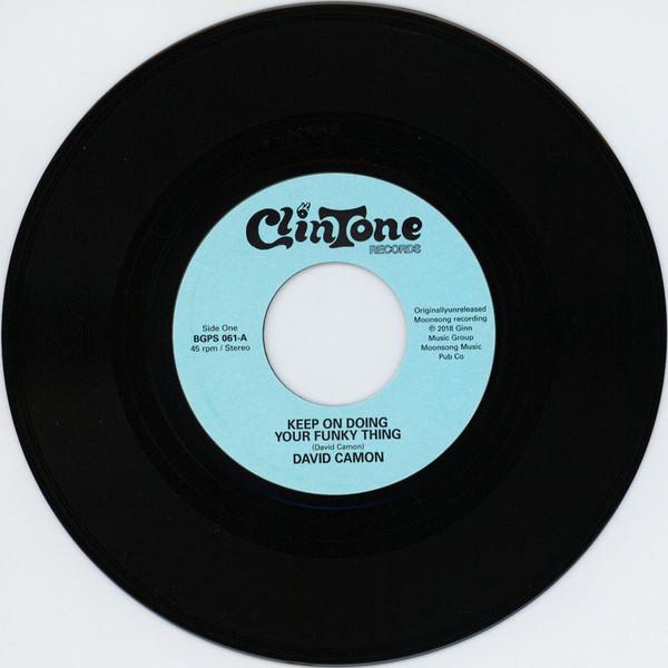 Виниловая пластинка David Camon - Keep On Doing Your Funky Thing