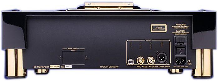 CD-транспорт MBL 1621A black/gold