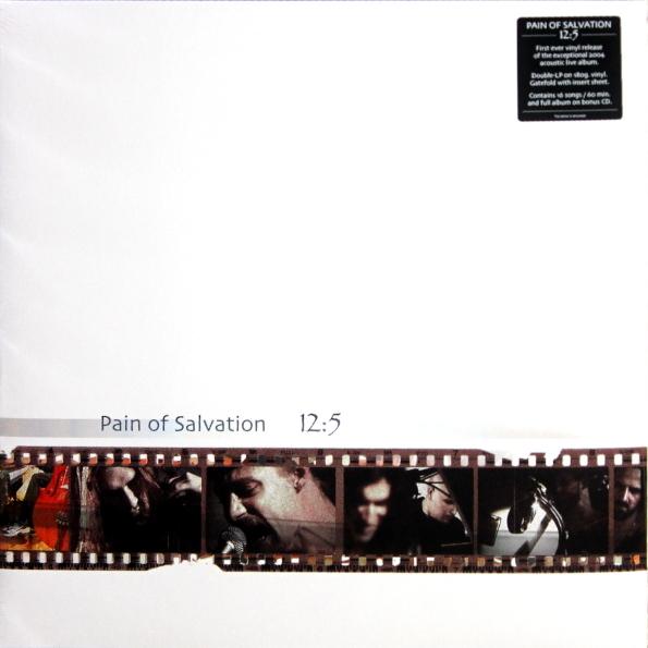 Виниловая пластинка PAIN OF SALVATION - 12:5( 2LP+CD/180 Gram Black Vinyl/Gatefold)