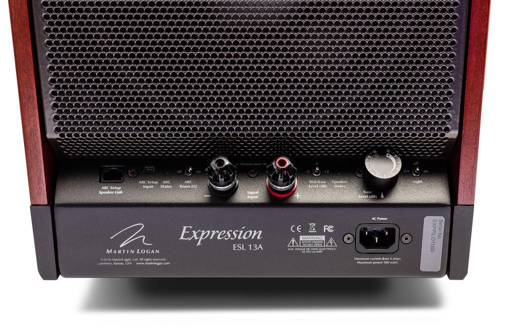 Напольная акустика Martin Logan Expression ESL 13A Cordoba Red
