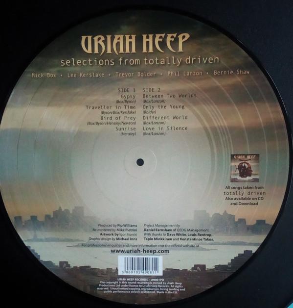 Виниловая пластинка Uriah Heep - Selections From Totally Driven