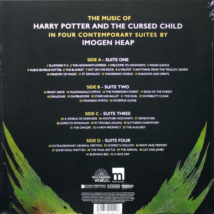 Виниловая пластинка Heap, Imogen, The Music Of Harry Potter And The Cursed Child - In Four Contemporary Suites (Limited 180 Gram Black Vinyl/Gatefold/Booklet)