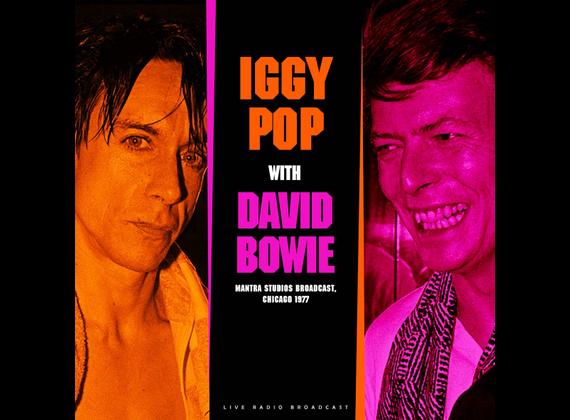 Виниловая пластинка IGGY POP & DAVID BOWIE - BEST OF LIVE AT MANTRA STUDIOS BROADCAST 1977