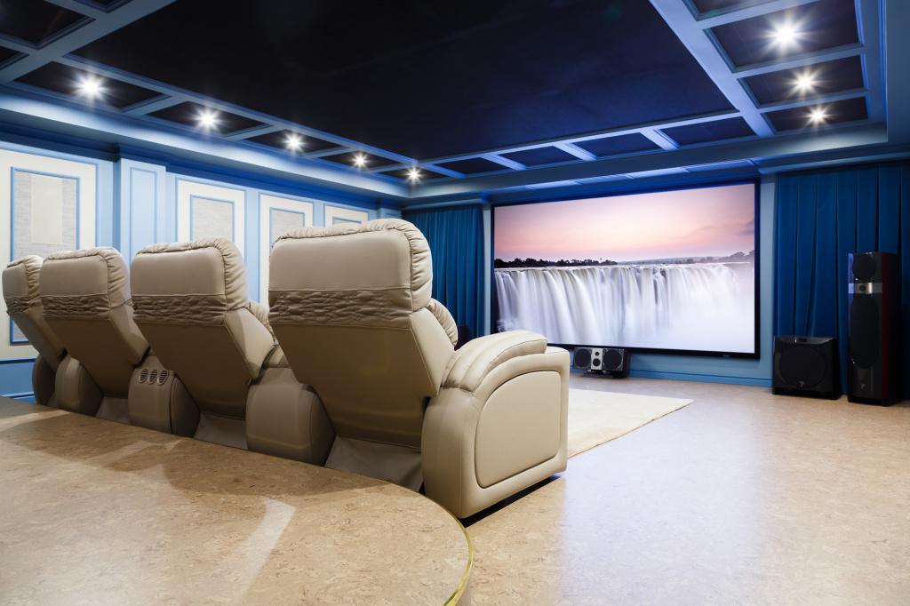 Кинозал и тайные кресла